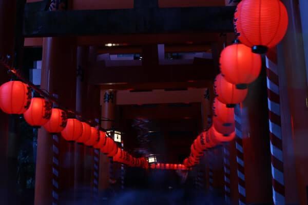 伏見稲荷 本宮祭り 入り口
