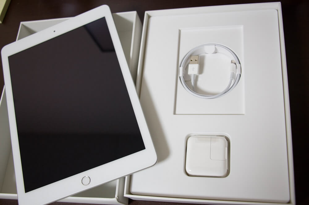 iPadをネットで購入