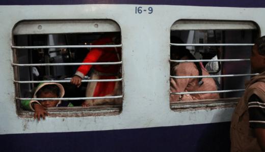 インドの列車の乗り方・予約の方法