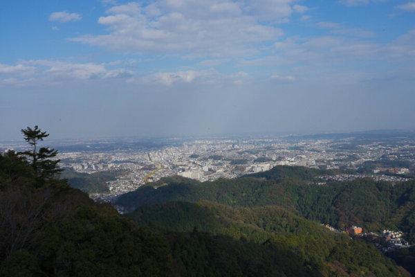 高尾山 絶景