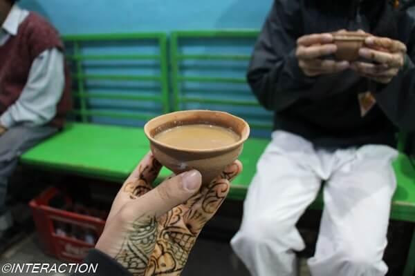 インド バラナシ チャイ